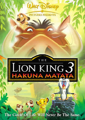 Filme Poster  O Rei Leão 3 – Hakuna Matata DVDRip RMVB Dublado