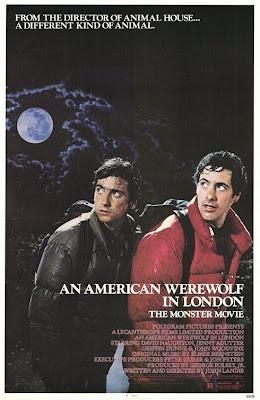 Filme Poster Um Lobisomem Americano em Londres DVDRip RMVB Legendado