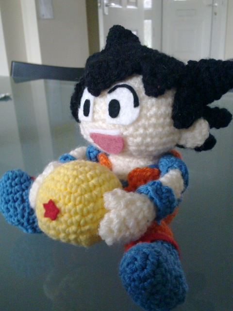 Ks toy adventure.: Dragon Ball Amigurumi - Son Goku