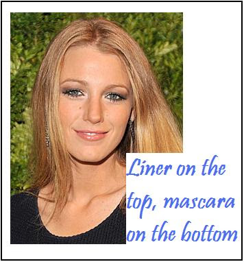 Eye Liner and Mascara