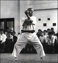 Sensei Gichin Funakoshi