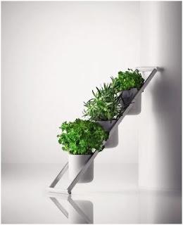 escalera decorativa para plantas o velas