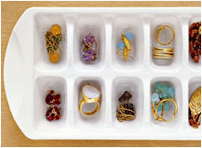 organizar los anillos