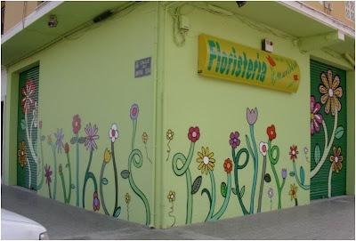 murales tematicos para decorar tienda