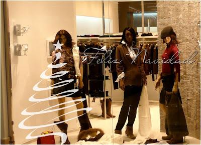 decorar tienda en navidad con vinilos