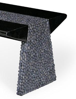 muebles maluku con piedras