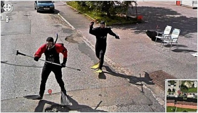 imagenes graciosas captadas en google street view