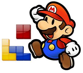 Super Mario Tetris online