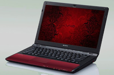 Sony Vaio CW - Fiery red
