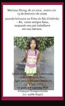 MARIANA ZENG (10 anos) RIO DE JANEIRO