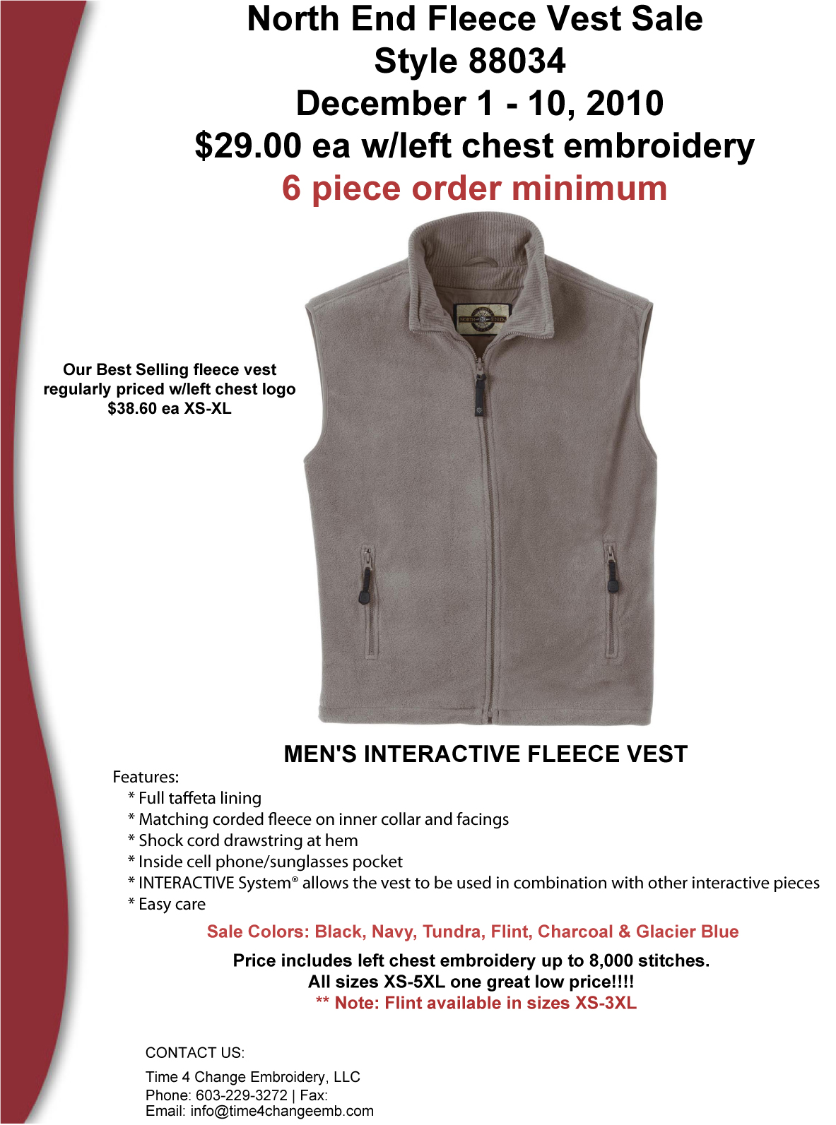 Womens Fleece Vest Sale