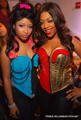Nicki Minaj 30th Birthday on Blue Ape  Nicki Minaj And Trina S Bday Style