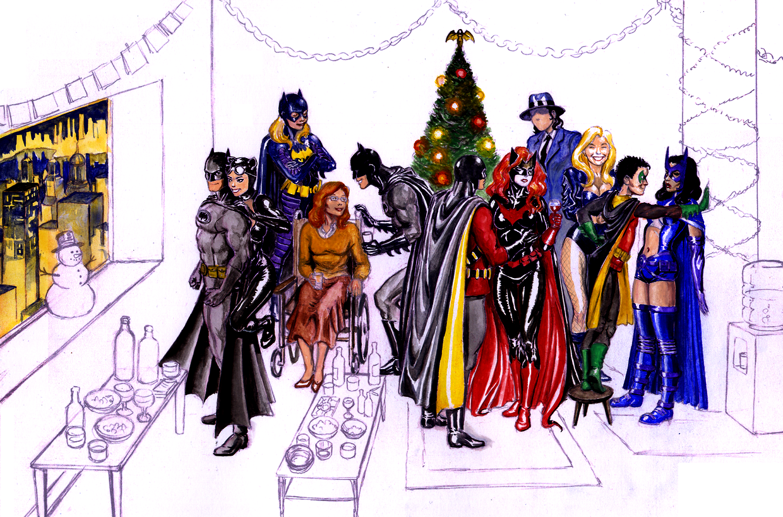 Batman Christmas Wallpaper