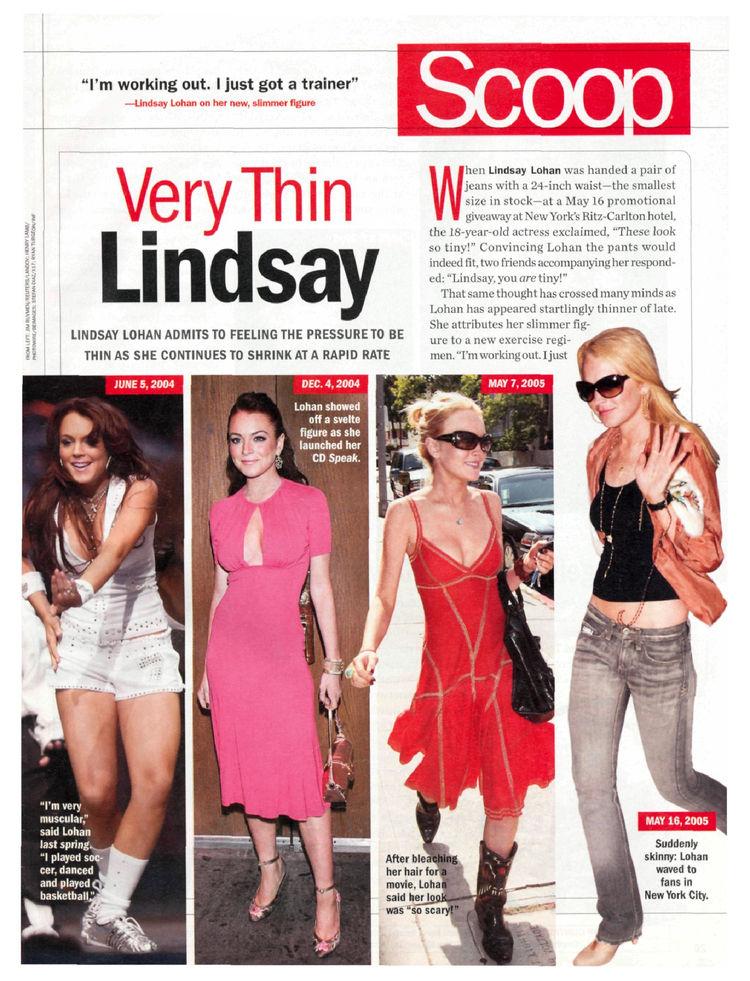 lindsay lohan skinny 2011. Lindsay Lohan