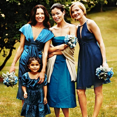 Bridesmaid Dresses on Blue Bridesmaid Dresses    Discount Wedding Gown