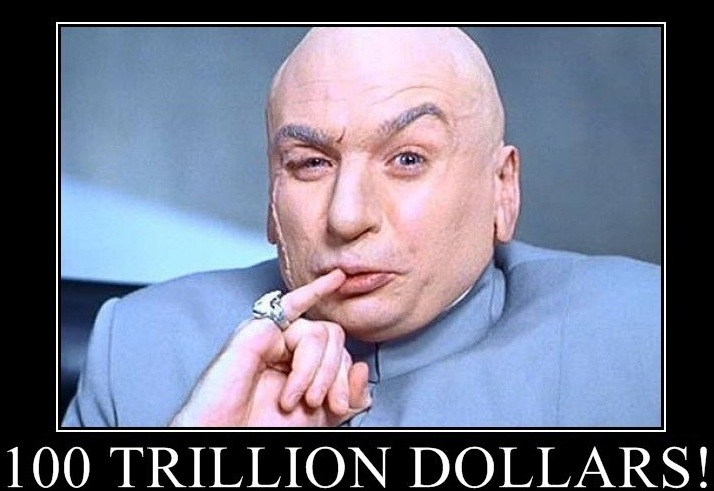 dr evil one million