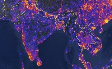Touristiness Map