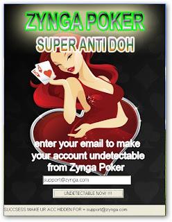Cara Mencegah DOH Banned dengan Zynga Poker SUPER ANTI DOH Ver1.1 Jan 2011