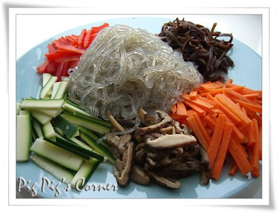 Korean-Style Cellophane Noodles