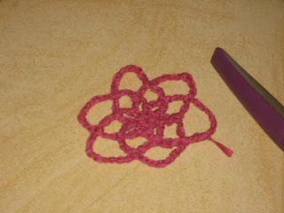Cara Membuat Bando Bunga Rajut