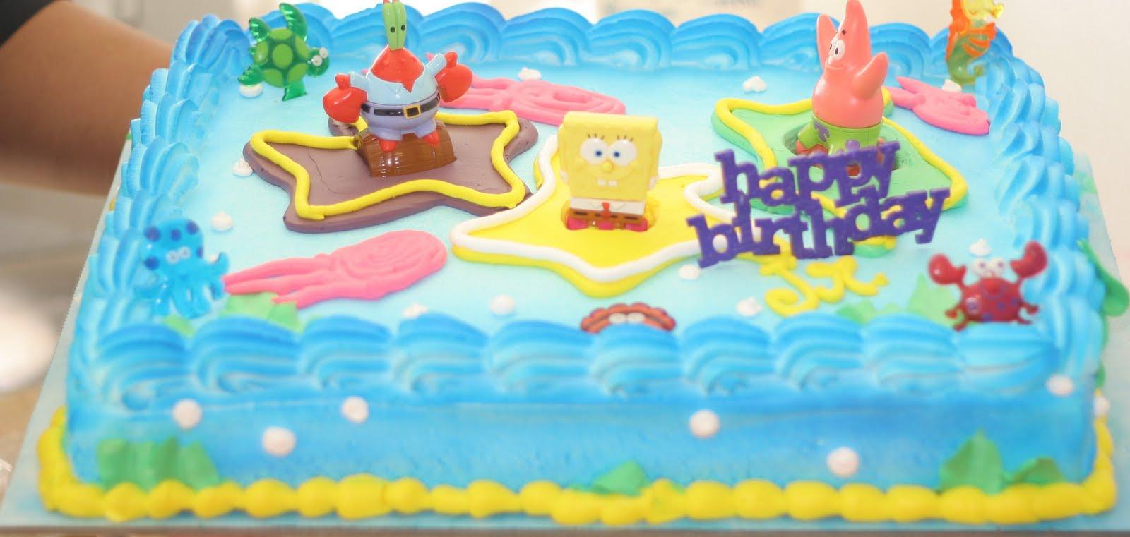 Hectors Custom Cakes SPONGEBOB CAKE