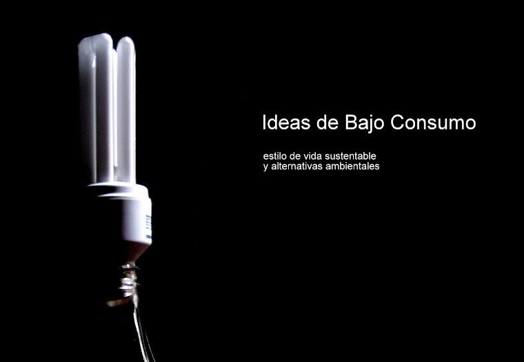Ideas de bajo consumo