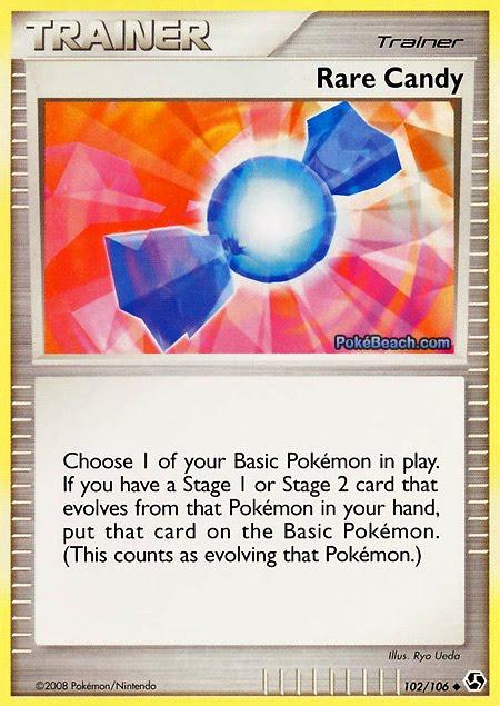 Carta de entrenador pokemon