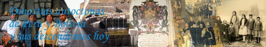 Dinastias Autoctonas de Peru y Bolivia