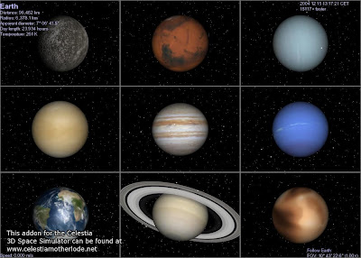 we have nine planets with diffrent masses there is a high probability