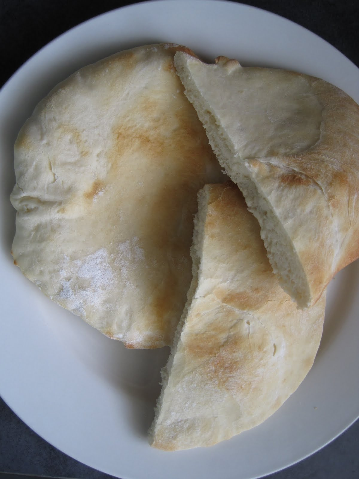 how to make homemade pita