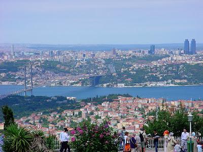 El Estambul europeo visto desde el lado asiatico