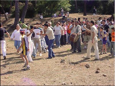 Fiesta popular en la isla de Los Principes