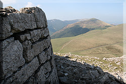 Piedras labradas en la torre
