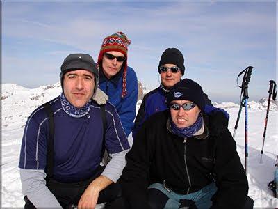 Petrechema mendiaren gailurra 2.366 m.  -  2006ko abenduaren 14an