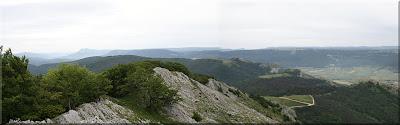 Panorámica desde la cima