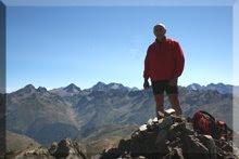 Pic Peyreget mendiaren gailurra - 2007ko abuztuaren 10an