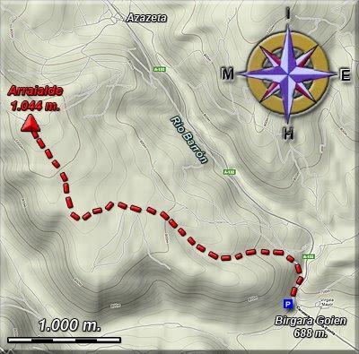 Plano del recorrido