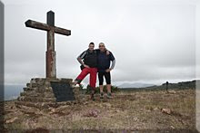 Cruz de Alda/Perriain mendiaren gailurra - 2008ko irailaren 14an