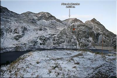 Pico de Musales desde el refugio de Respomuso