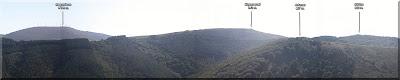 Panorámica de la sierra de Elgea