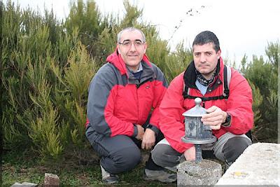 Alto de Pando menduaren gailurra  -  2009ko urtarrilaren 25ean