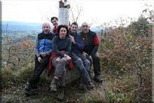 Zaballa mendiaren gailurra 632 m. – 2009ko abenduaren 27an