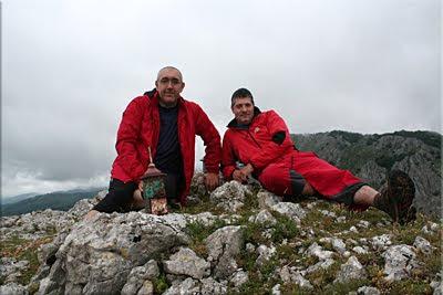 Albeiz mendiaren gailurra 1.012 m. – 2010eko akainaren 13an
