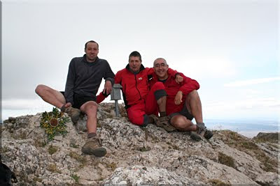 Costalera mendiaren gailurra 1.234 m. - 2010eko uztailaren 25ean