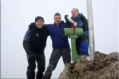 Aizkorri mendiaren gailurra 1.528 m. - 2011ko urtarrilaren 9an
