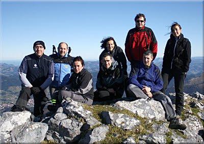 Anboto mendiaren gailurra 1.331 m.  -  2011ko urtarrilaren 15ean