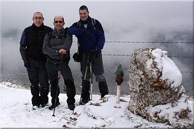 Cantoblanco mendiaren gailurra 1.006 m. - 2011ko urtarrilaren 29an
