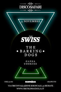 Discosafari, The Swiss live, The Barking Dogs, Magnolia