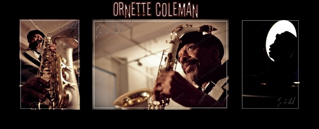 Ornette Coleman at his apartment, New York, 26th of January 2007