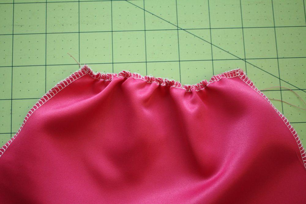 Как сшить платье для кукол барби без липучек 23